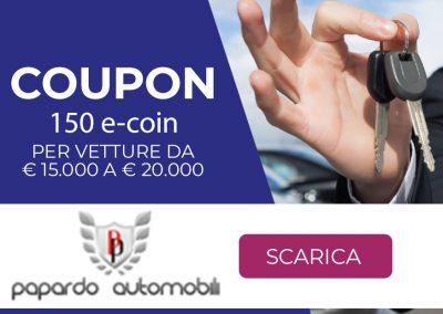 Papardo Automobili srl | 150 e-coin