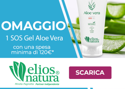 Eliosnatura – Partner Mirella Pagnotta | Omaggio SOS Gel